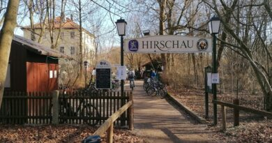 Biergarten Hirschau Eingangsbereich
