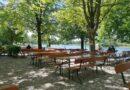 Gasthof Feringasee mit Biergarten - Ausblick auf den See