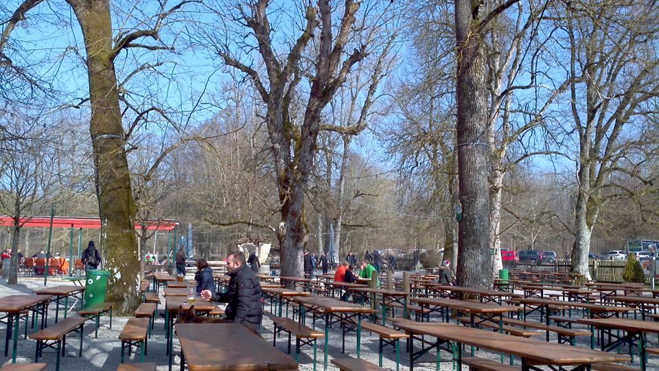 Biergarten Forsthaus Kasten