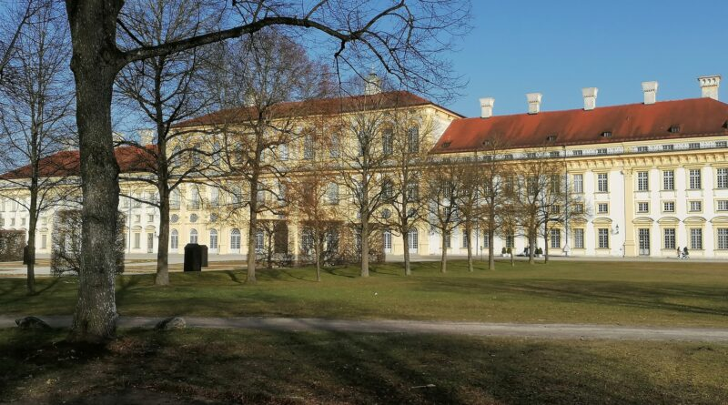 Leider gerade Baustele, der Schlossbiergarten Oberschleißheim