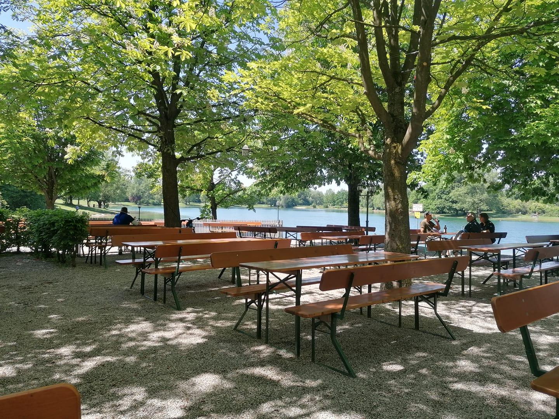 Der Seehaus Biergarten Englischer Garten