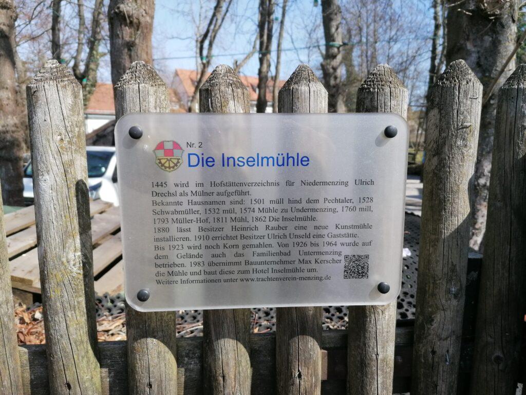 Infos zum Augustiner Biergarten Inselmühle München