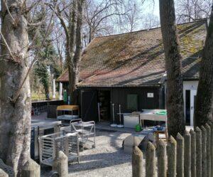 Die Schänke am Augustiner Biergarten Inselmühle München