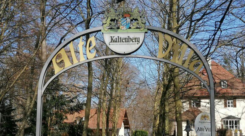 Herzlich Willkommen im Biergarten Alte Villa