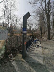 Die MVG Fahrradstation