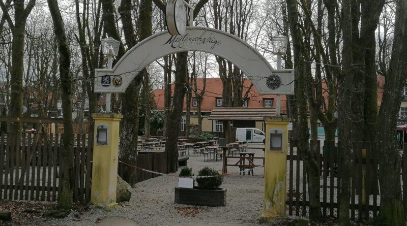 Herzlich Willkommen im Menterschwaige Biergarten