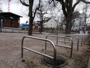 Paulaner am Nockherberg Biergarten Farradparkplätze