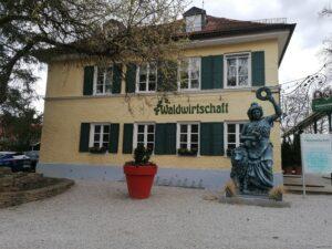 Das Restauant der Waldwirtschaft München