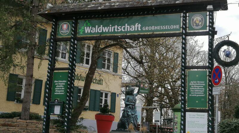 Der Waldwirtschaft München Eingangsbereich