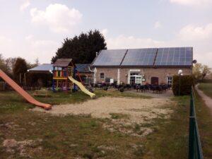 Der Kinderspielplatz am Hofcafé Fitscheshof