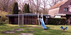 Der Kinderspielplatz im Landgasthof zur Fluchtburg