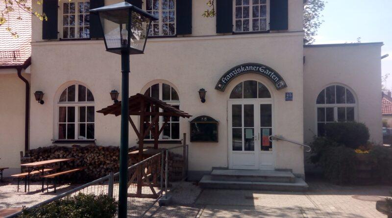 Der Biergarten Franziskaner in Trudering