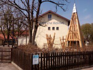 Der Kinderspielplatz im Biergarten Keferloh