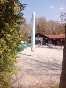 Der Bedienbereich im Biergarten Leiberheim
