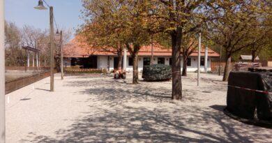 Der Blick auf das Restaurant am Biergarten Michaeligarten Gästebereich