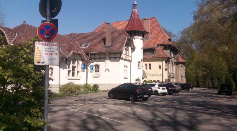 Das Biergarten Stadtwaldhaus in Krefeld. Auch für Veranstaltungen geeignet.