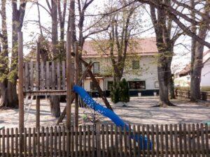 Der Kinderspielplatz im Biergarten Rothmeyer's Zur Einkehr
