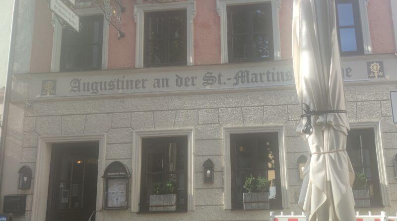 Der Augustiner Biergarten Landshut in der Altstadt