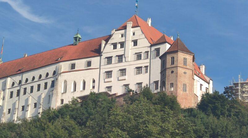 Die mittelalterliche Burg Trausnitz in Landshut